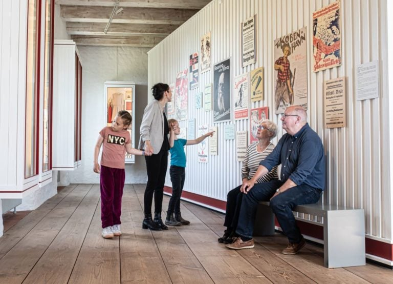 Genforening udstilling Sønderborg Slot MSJ gæster
