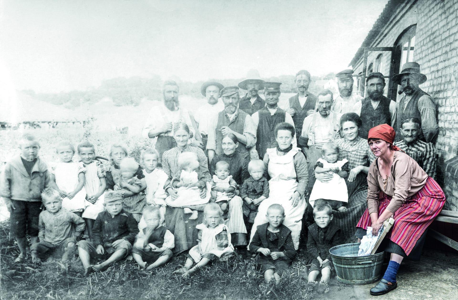 Det levende teglværk anno 1900