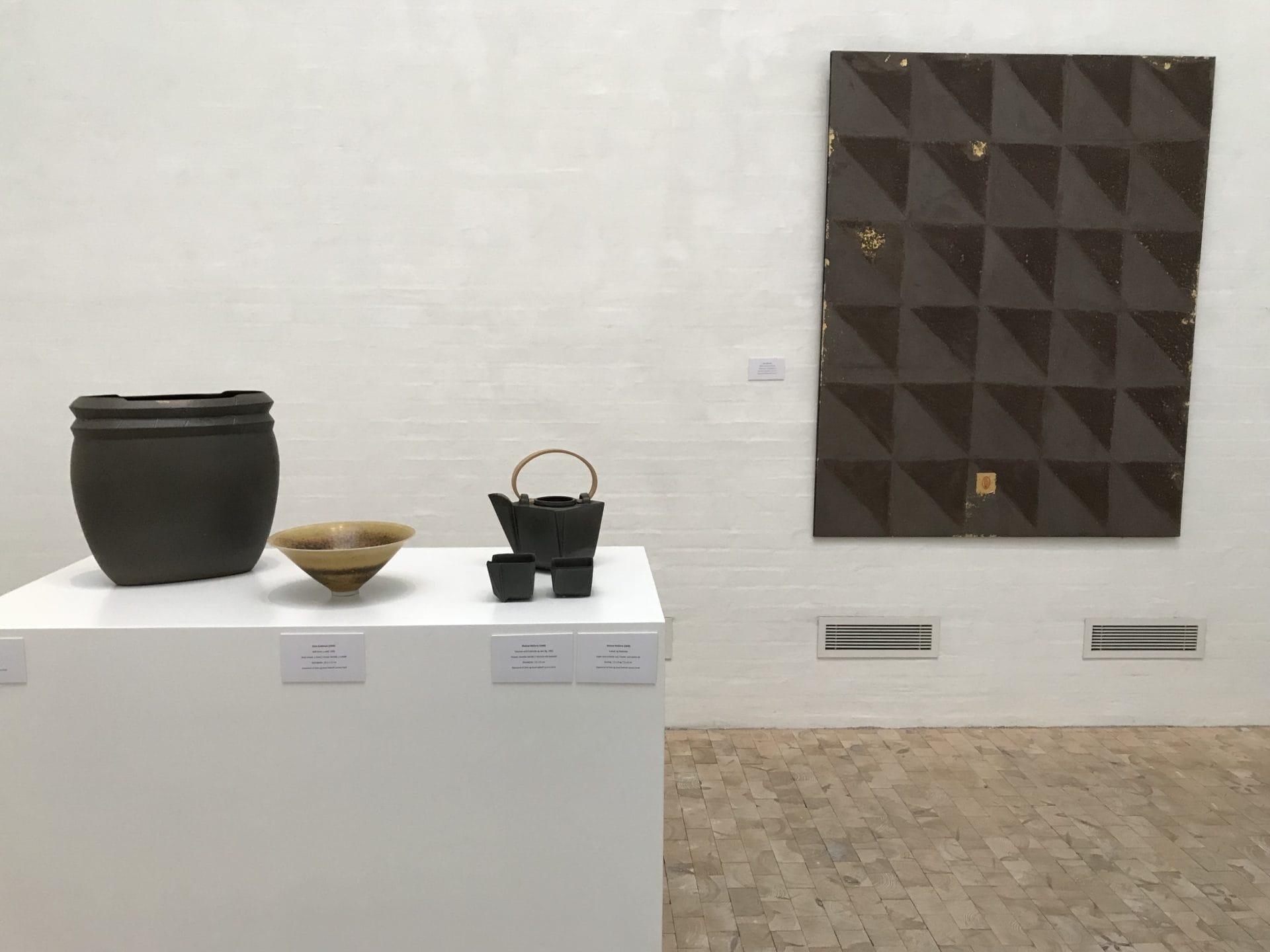 Keramik fra Ellen & Knud Dalhoff Larsen Fonden