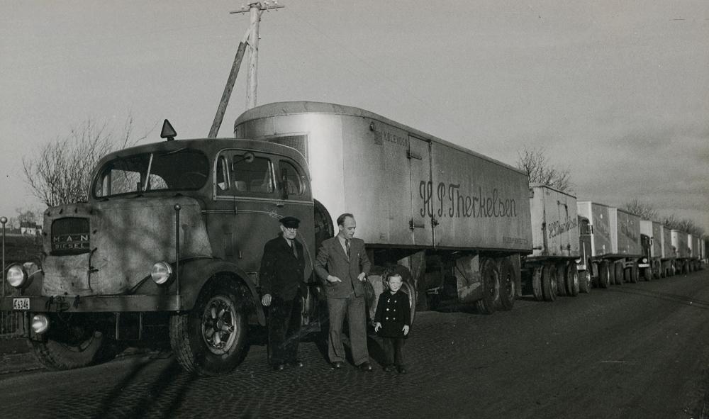 H.P. Therkelsen: 100 år i transportbranchen