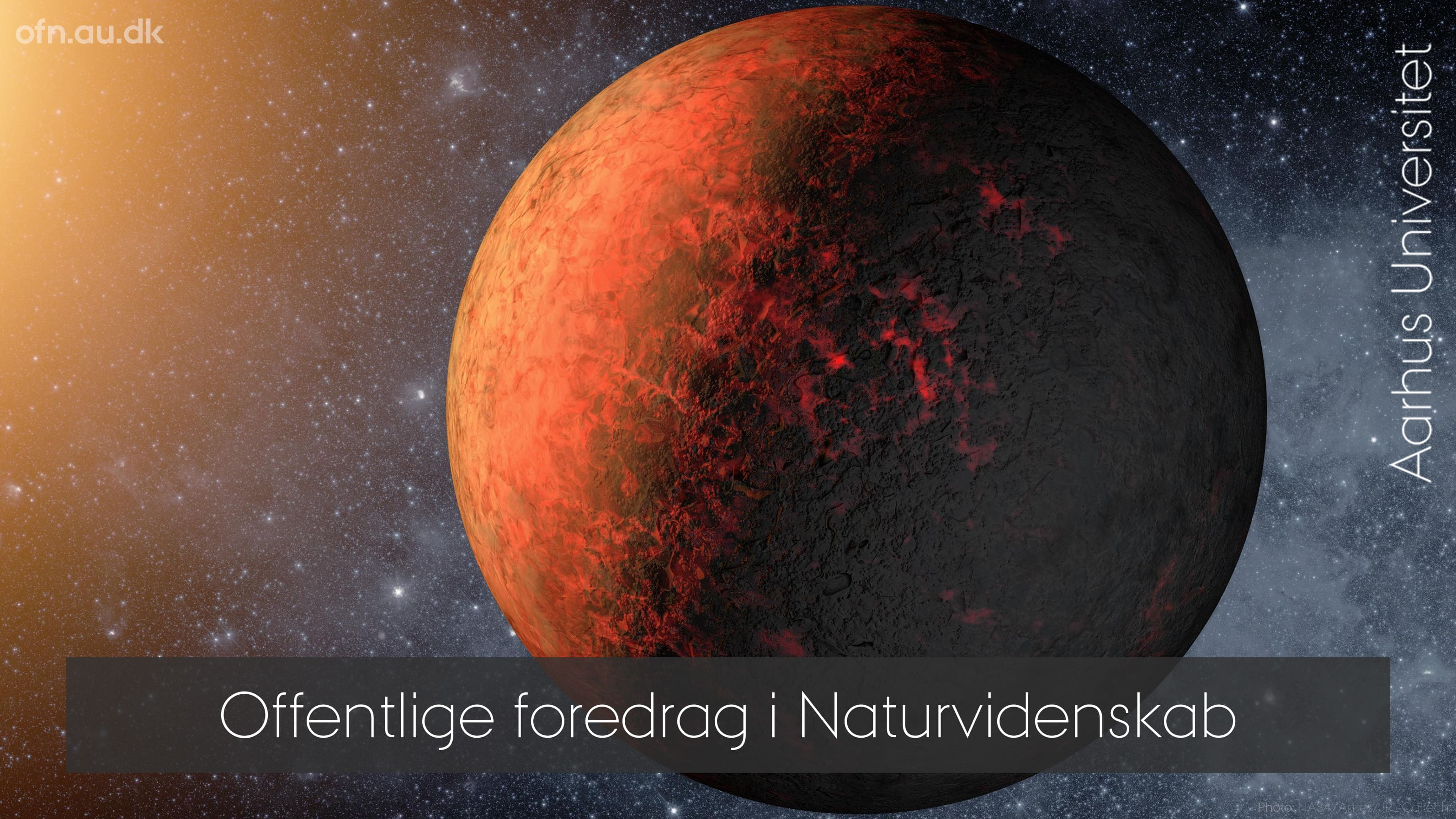 Hunting exoplanets and life in the Universe – livestream fra Aarhus Universitet