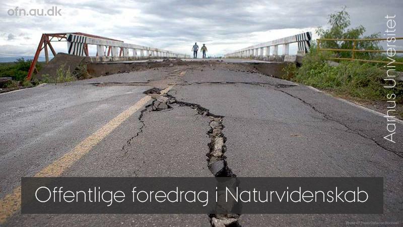Vores urolige klode – livestream fra Aarhus Universitet
