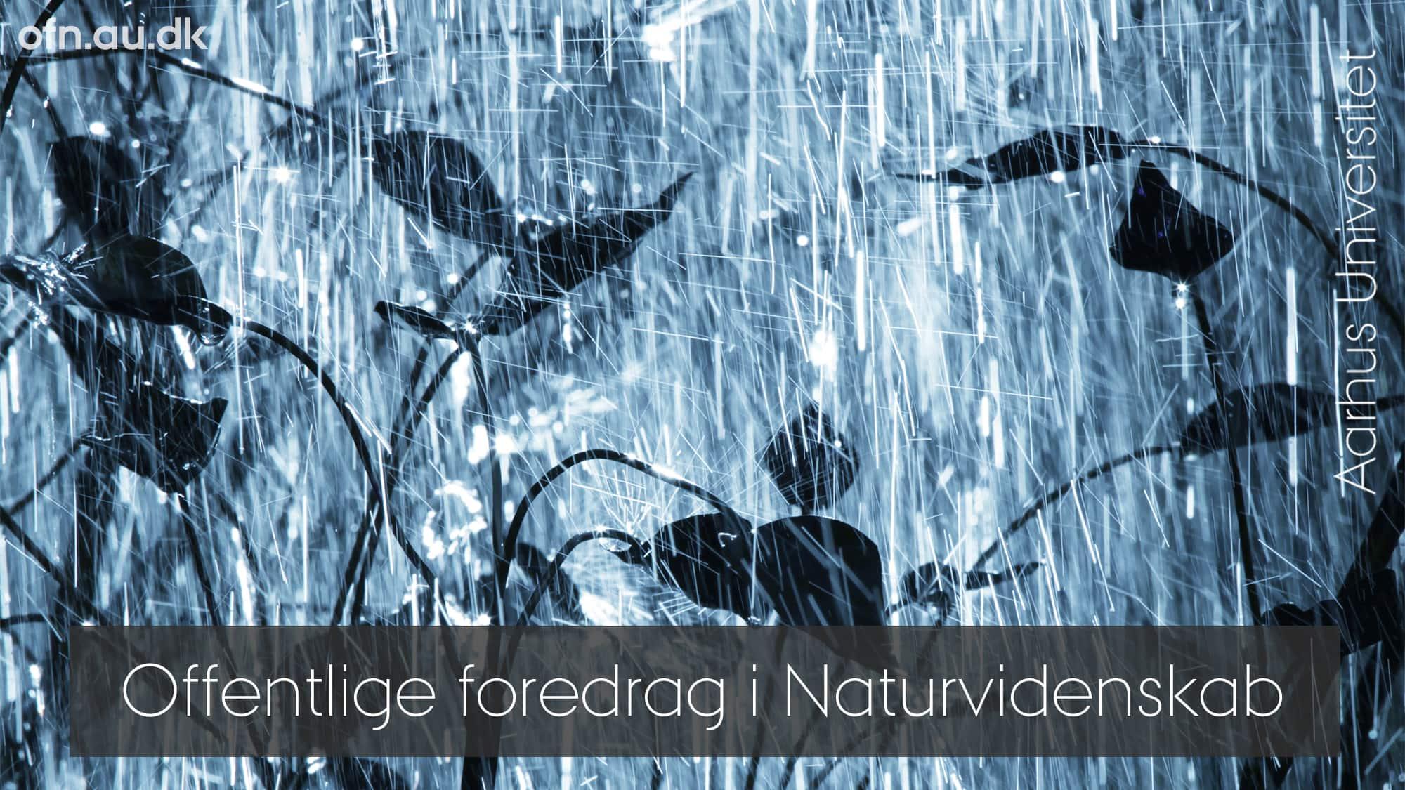 Klimaændringer – den danske vinkel – AFLYST i GRAM