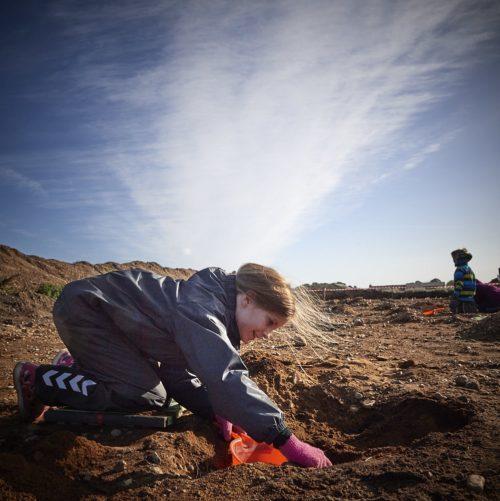 Kom ud og grav efter fossiler i Gram Lergrav
