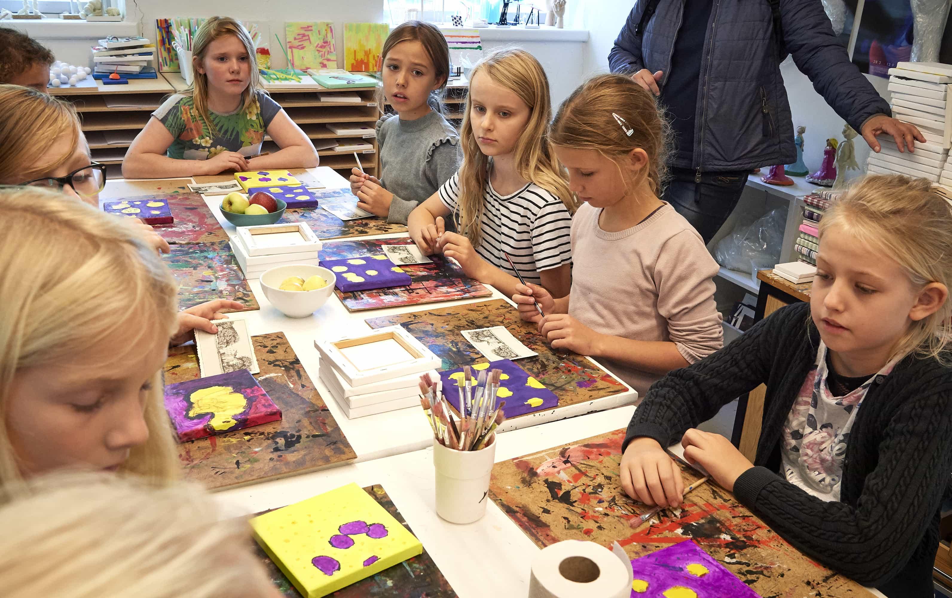 Prøv at gå i billedeskole på Kunstmuseet i Tønder