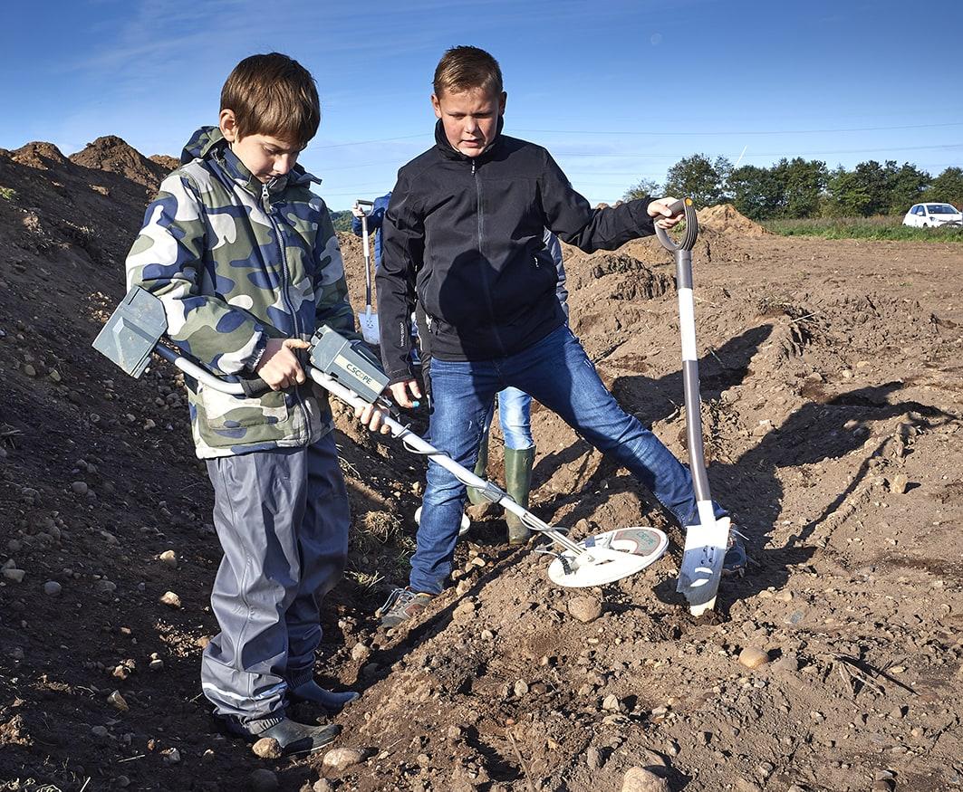 I arkæologernes fodspor- 2 dags kursus for børn og unge