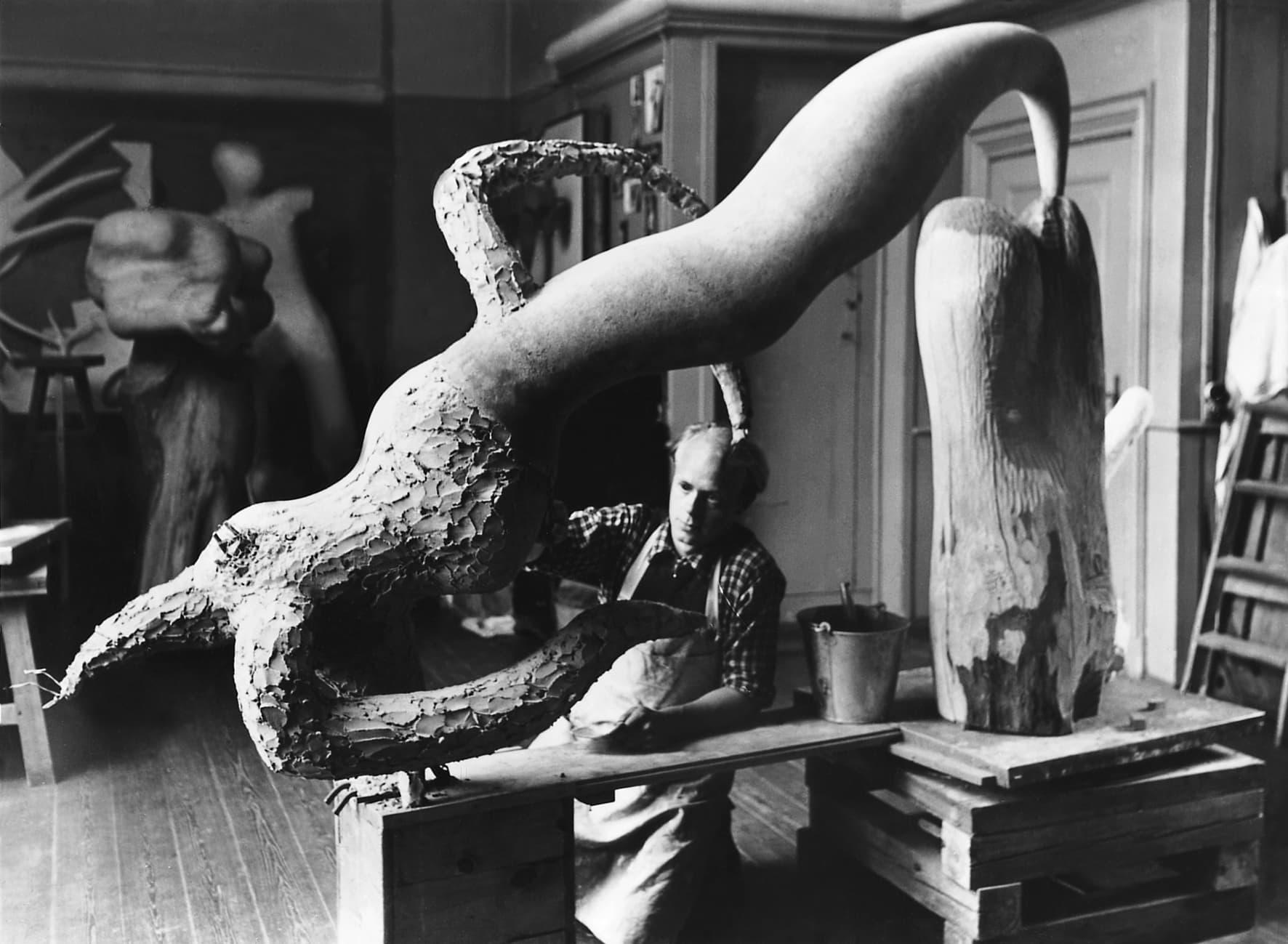 Omvisning i udstillingen Sigurjón Ólafsson – Mangfoldige former