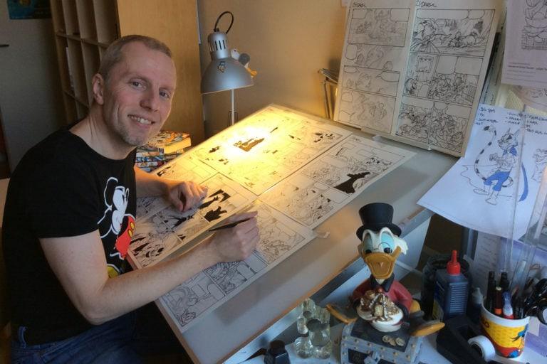 Tegneworkshop med Disneytegner