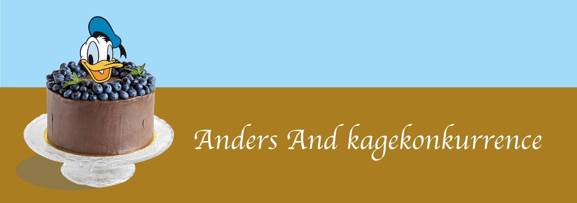 Kagekonkurrence – Bag din egen Anders And kage