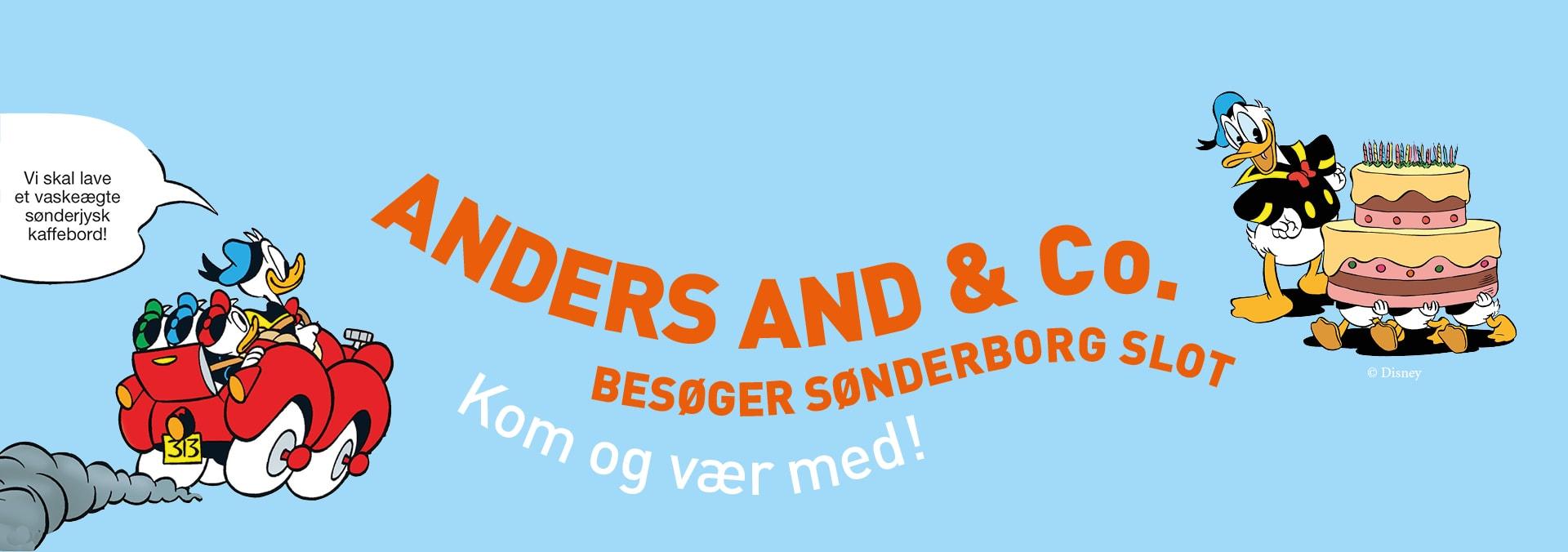 Anders And event på Sønderborg Slot