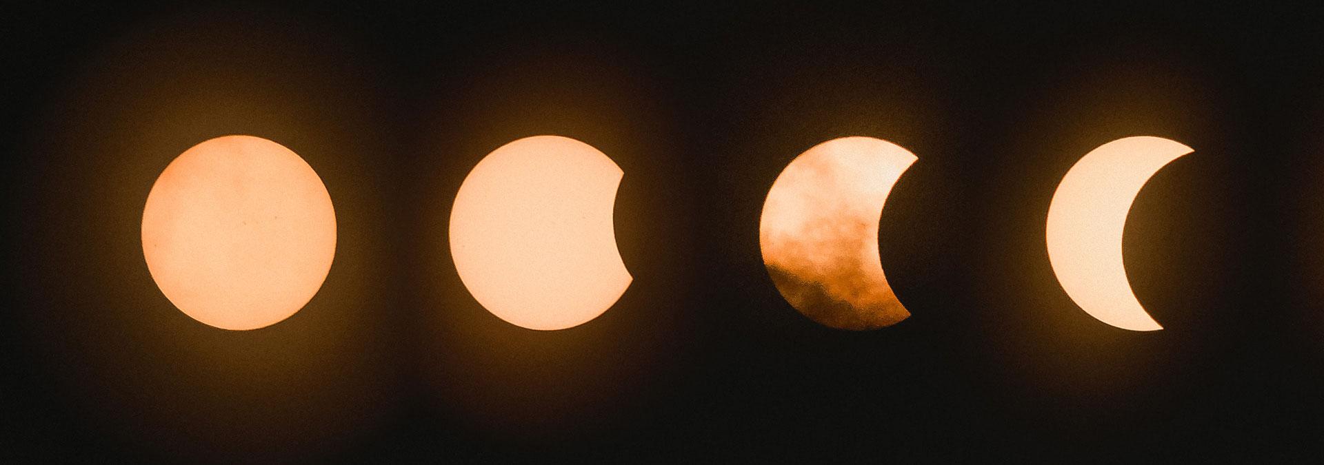 Oplev delvis solformørkelse