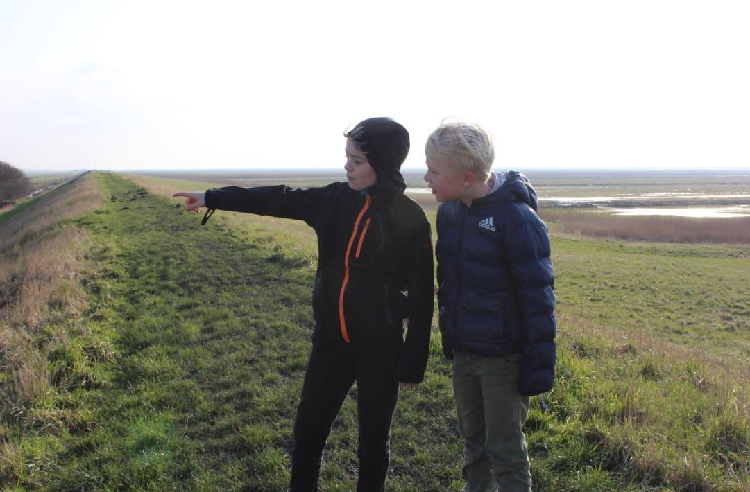 Rangertur for børn i Tøndermarsken omkring Højer
