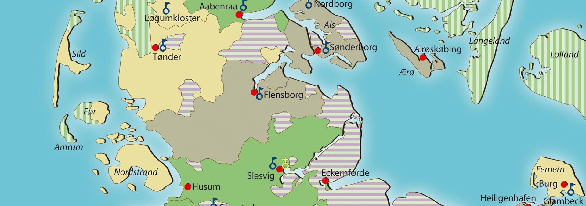 FOREDRAG: Hertuger i Slesvig gennem tiderne