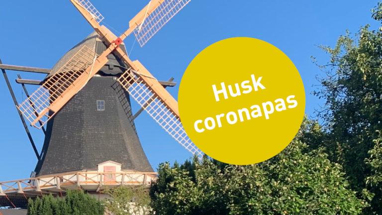 Husk coronapas