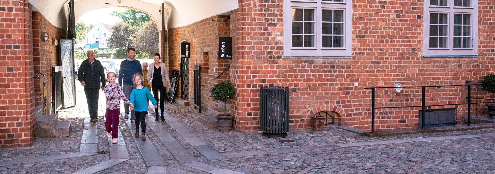 Sønderborg Slot spærret for trafik 12. september